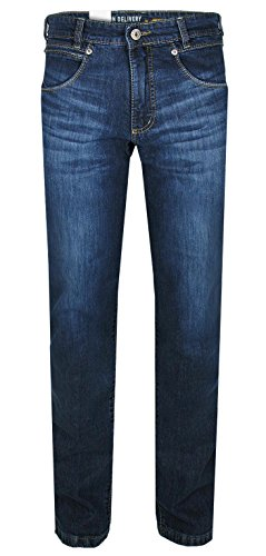 Joker Herren Jeans | Freddy (Straight Fit) Dark Blue Treated