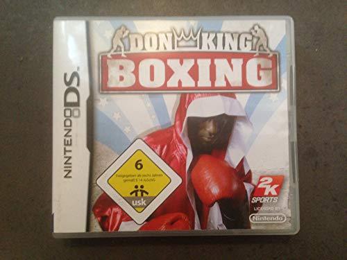 DON KING BOXING / JUEGO SOLO CARTUCHO - Nintendo DS EN ESPANOL MULTI-IDIOMAS (compatibles DS LITE-DSI-3DS-2DS-XL-NEW)