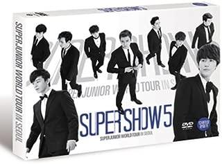 Super Junior [SUPER SHOW 5] World Tour in Seoul (2 DVD Discs) Special Color Book & Poster