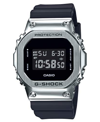 [カシオ] 腕時計 ジーショック メタルカバード GM-5600-1JF メンズ ブラック