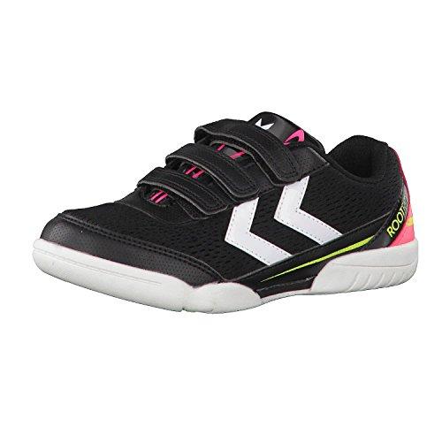 hummel Kinder Handballschuhe Root Jr III 60515 Safety Yellow/Black 33