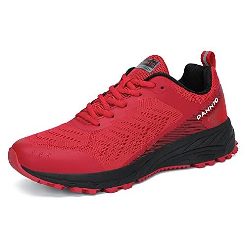 Dannto Uomo Scarpe da Ginnastica Donna Scarpe da Corsa Sportive Sneakers Running Basse Respirabile Mesh