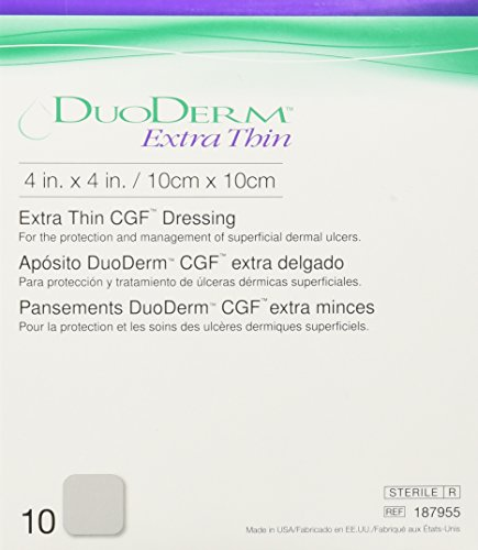 ConvaTec DuoDERM Extra Thin CGF Dressings 4 X 4...