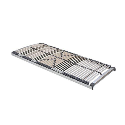 MALIE 7-Zonen-Lattenrost Classic Superflex 42 NF, unverstellbar 100x200 cm, Holz, 100/200
