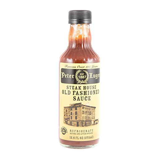 commercial Gourmet Food Peter Luger Steak Sauce, 12.6 fl oz steak sauce brand