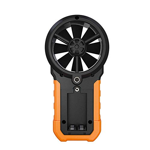 Professional Handheld Digital Anemometer,LCD Backlit Wind Speed Meter Humidity Temperature Testers Meters Wind Speed Air Volume Measuring Meter,USB Connectable to Computer