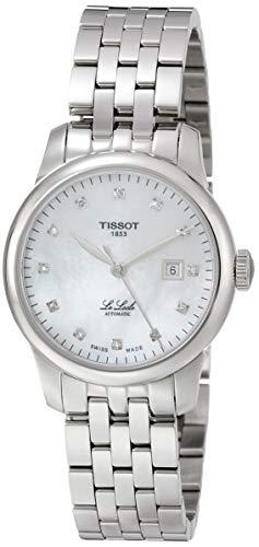 Tissot Damen-Uhren Analog Automatik One Size Edelstahl 87687465