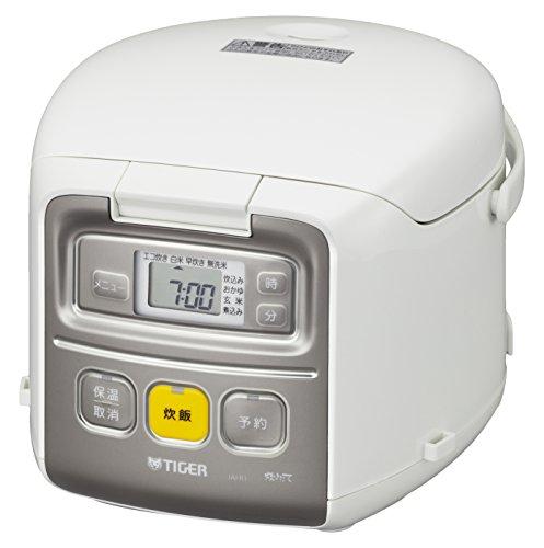 【TIGER】タイガー魔法瓶 炊飯器 一人暮らし用「3合炊き」