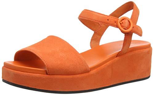 Camper Misia, Sandalia con Pulsera Mujer, Naranja (Medium Orange 810), 40 EU