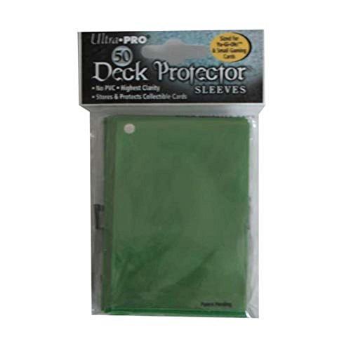 Ultra Pro Deck Protector Serpent Green (small) (81593) - Sammelkartenzubehör Jap. Größe