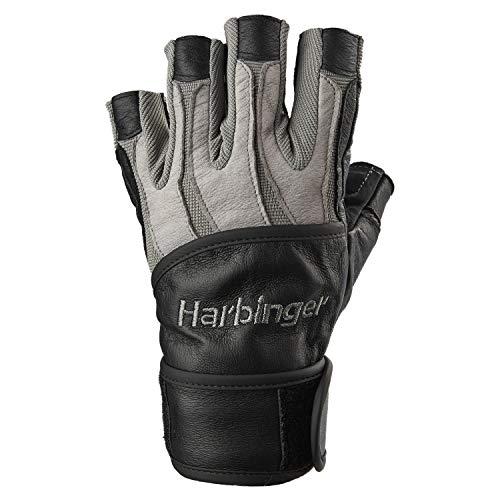 (ハービンガー) Harbinger バイオフォームリストラップ メンズ ウエイトリフティンググローブ 感熱性クッションパーム付属 (ペア) L