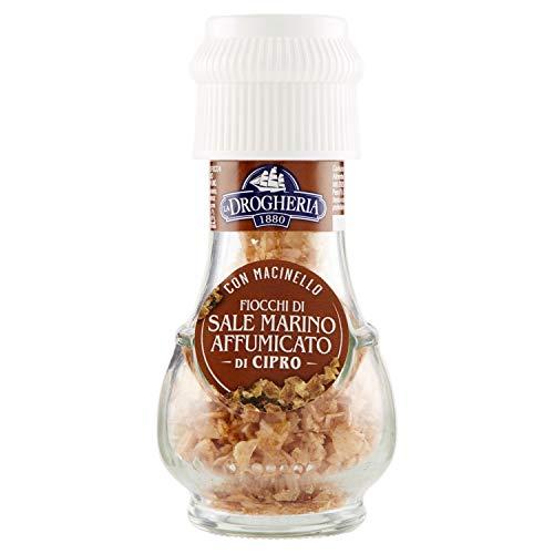 Drogheria e Alimentari Spa QVVM340, Fiocchi di sale affumicato, 45 g