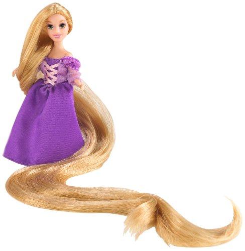Mattel T4955-0 - Disney Princess, Rapunzel Mini-Prinzessinnen Spielset inkl. Puppe und viel Zubehör