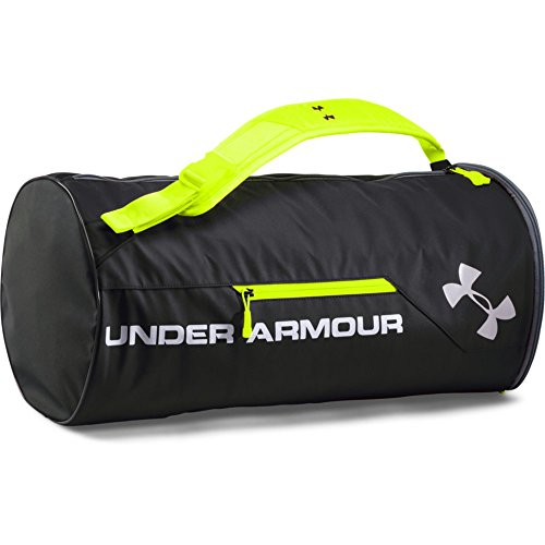 Under Armour Isolate Duffel Bag, Red /Silver, One Size Fits All