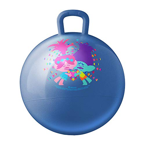 Hedstrom Trolls Hopper Ball, Hop Ball for Kids, 15 Inch, Trolls 2, Model:55-97201