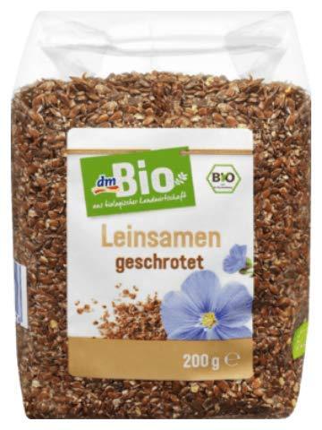 dmBio Leinsamen geschrotet, 200 g (1er Pack)