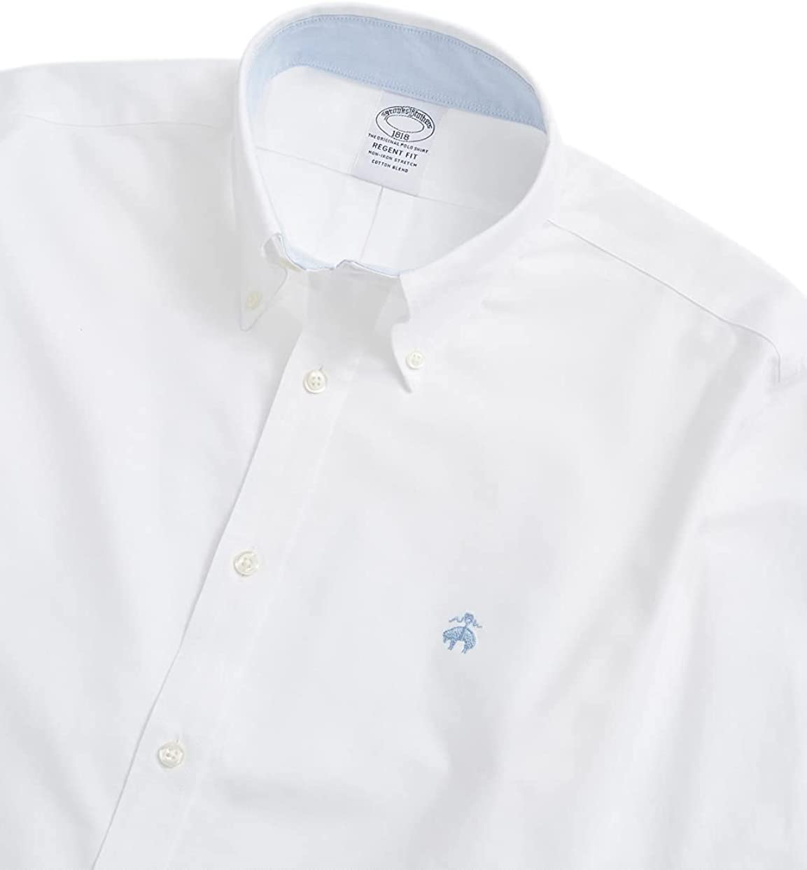 Brooks Brothers Men's Regent Fit The Original Polo Non Iron Stretch Sport Oxford Shirt