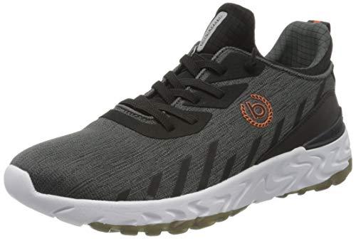 bugatti Herren 341928606900 Slip On Sneaker, Grau, 43 EU