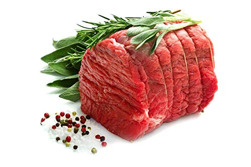 Fresh Topside Beef Joints Pack of 2 - 1.2kg Each Joint Approx
