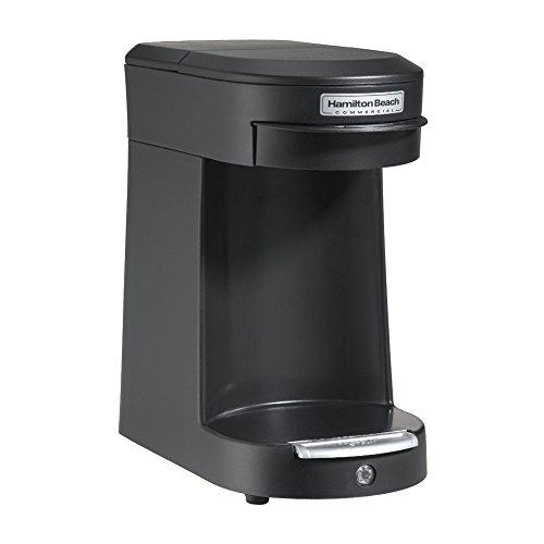 Hamilton Beach Commercial HDC200B Hospitality 1 Cup Pod Coffeemaker, Black