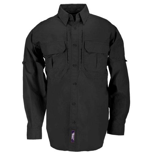 5.11 - Camisa táctica para Hombre, Hombre, 72157-019, Negro, X-Large