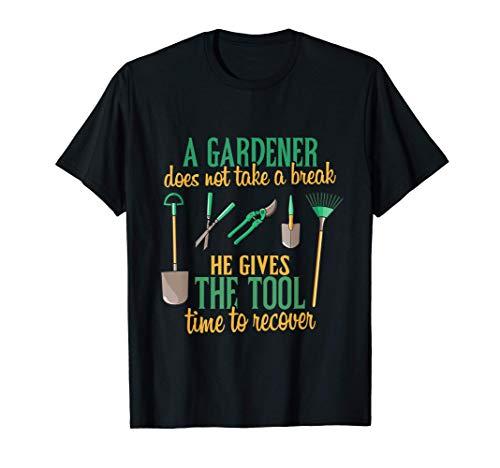 Jardinero Paisaje de Jardín diciendo que regalar el césped Camiseta