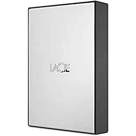 LaCie USB 3.0 4TB External HDD for Windows and Mac - Portable Hard Drive with 1 Month Adobe CC All Apps Plan (STHY4000800)