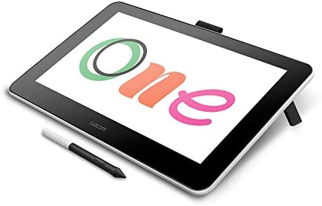Wacom DTC133W0A One Digital Drawing Tablet with Screen 13 3 Inch Graphics Display for Art and product image