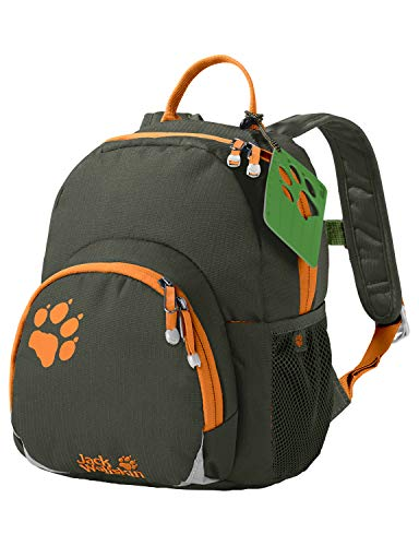 Jack Wolfskin Kinder Buttercup Rucksack, Antique Green, ONE Size