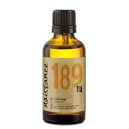 Naissance Huile Essentielle de Sauge Sclarée (n° 189) - 50ml - 100% pure et naturelle
