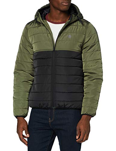 Element Herren Alder Puff Fundament-Jacke für Männer, Flint Black, M