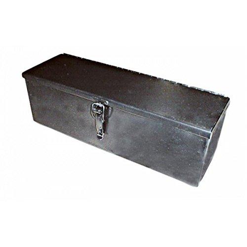 Caja de herramientas de chapa doblada y perforada en bruto 300 x 200 x 150 mm para tractores de Ama