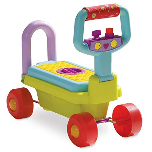 Taf Toys – Chariot de course 4 en 1 bébé Trotteur Trotteur antidérapant Chariot Baby 10205