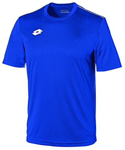 Lotto Delta Camiseta de fútbol, Hombre, Azul (Royal/Wht), XXL