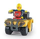 Smoby - Sam le Pompier - Quad Mercure - 8 Accessoires + 1 Figurine Incluse - 109257657002