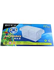Aquatic fish product Plastic fish tank aquarium breeding isolation box hatchery incubator FH-101 BOYU