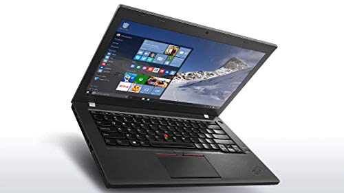 Lenovo Thinkpad T460 Touchscreen Ultrabook (14' FHD Touch Display, Intel Core i7-6600U 2.6GHz, 8GB RAM, 256GB SSD, Webcam, Backlit Keyboard, Fingerprint Reader, Windows 10 Pro) (Renewed)