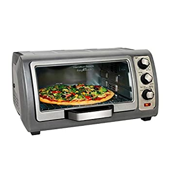Hamilton Beach Easy Reach Oven with Convection, Silver (31126)