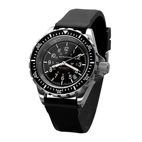 Marathon Orologio WW194006NGM GSAR Swiss Made Military Issue Diver Orologio...