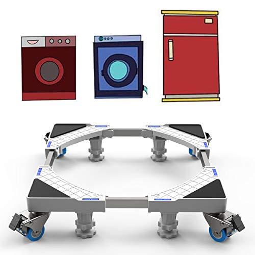 Base Lavatrice con Ruote Mobile Supporto Lavasciuga...