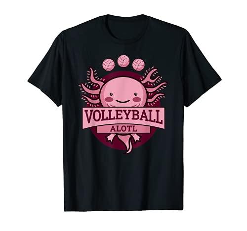 Voleibol Equipo Bebé Axolotl Voleibol Jugador Camiseta