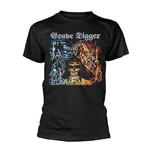 Grave Digger Rheingold Tee T-Shirt Mens