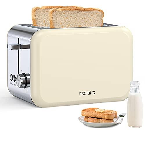 Proking -  Toaster Edelstahl, 2