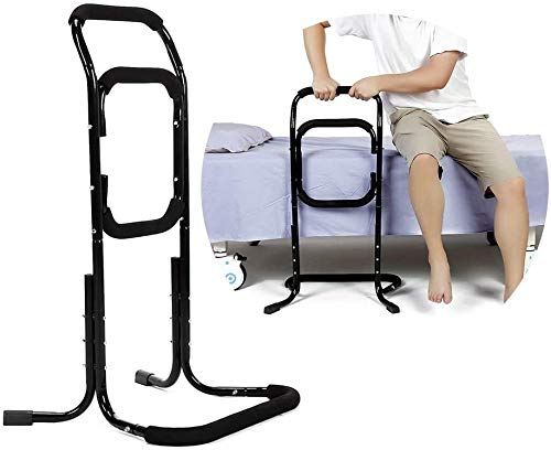 Bed Rails For Elderly Seat Lift Assist Chair Lift Devices Grab Bar For Bed Handicap Mobility Stand Assist For Lift Chair Couch Sofa Disabled Senior Support Handles Accessories Products Fall Protection