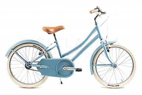 CAPRI Candy Bicicleta, Niños, Azul, Pequeño