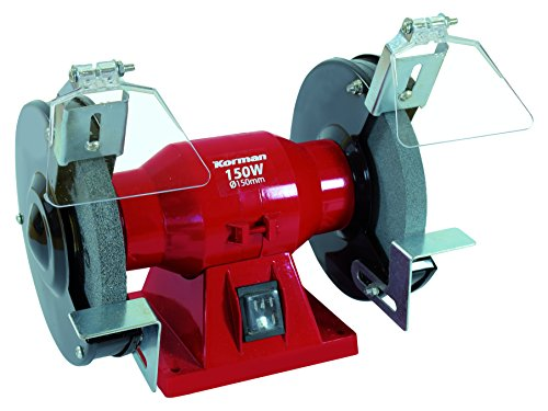 Korman 211203 Esmeriladora (150W, diámetro 150 mm)