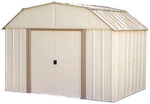 Arrow LX108 LX108-A Lexington 10 8-Feet Steel Storage Shed, ft. x 8 ft