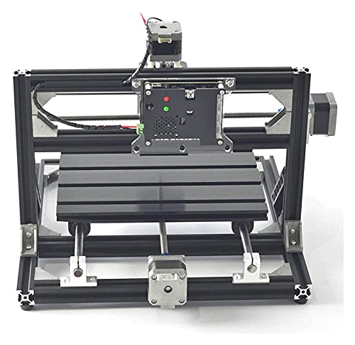 N&W Movable CNC Router Spindle Engraver DIY Wood Milling Engraving Machine Multi-Function Engraving Machine Engrave Wood Plastic Acrylic PCB Similar Material Engraving Tools