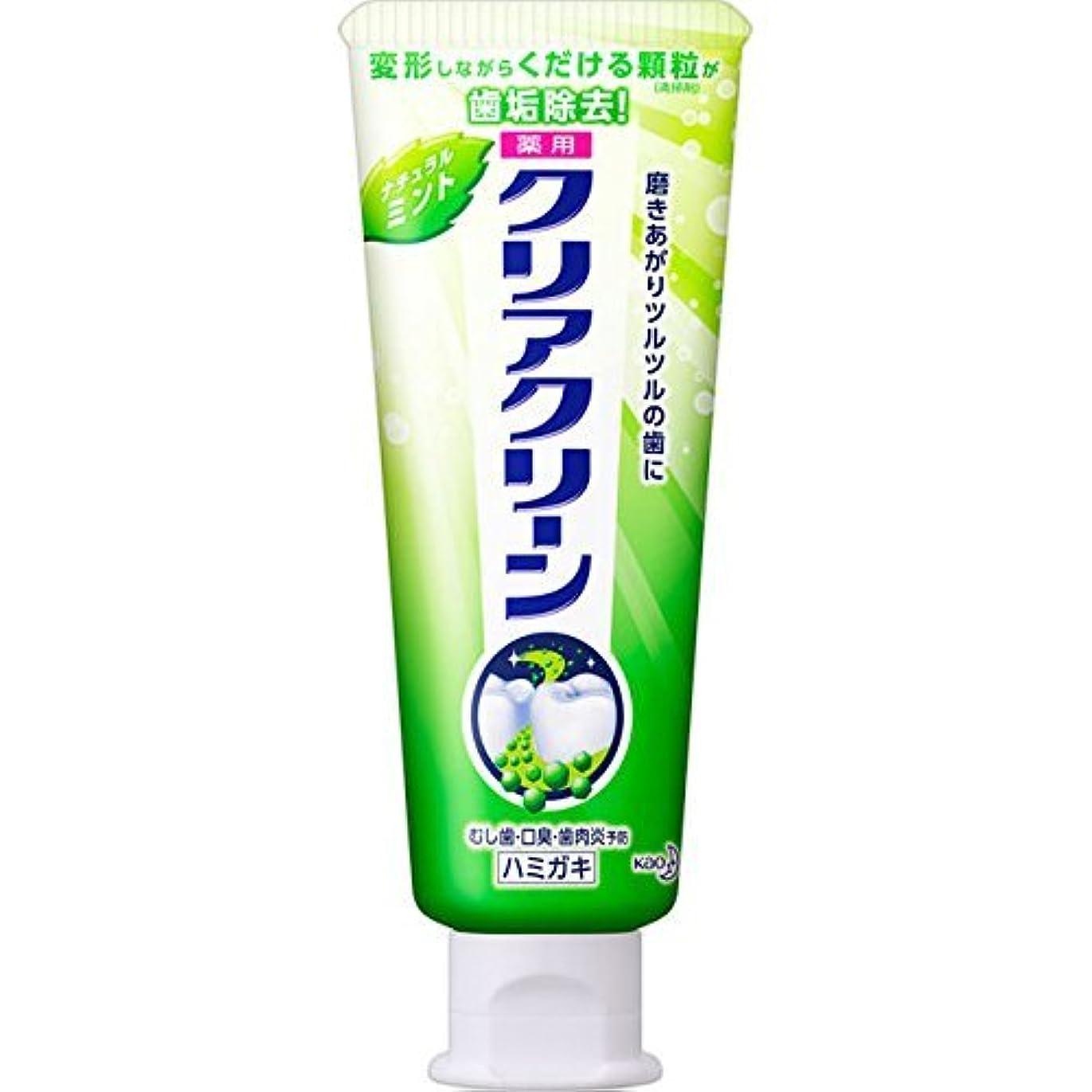 魂キャッチ計画花王 クリアクリーンナチュラルミント小 80g (医薬部外品)