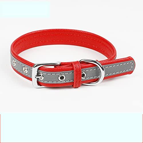 Guoz Collar de Perro Reflectante Collar de Perro Suave y Duradero Collar...